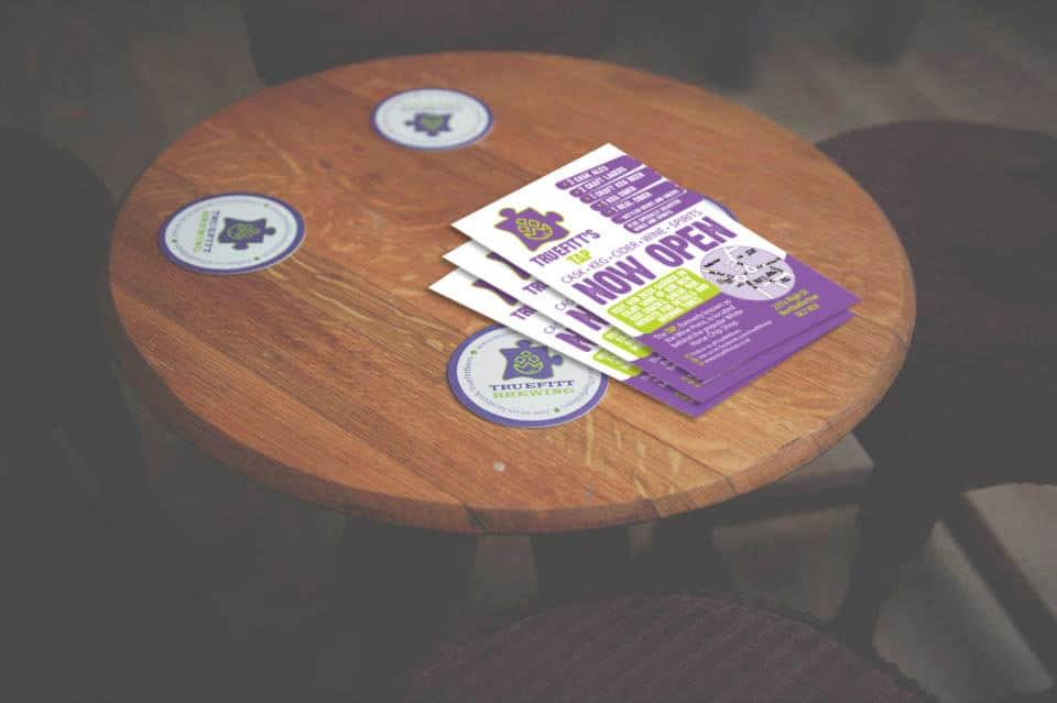 Truefitt's Tap - Brewery Promotional Literature