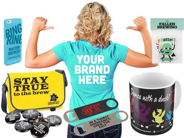 Brewery Merchandise designers