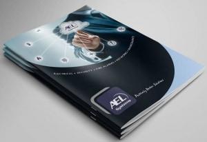 AEL Systems Ltd Brochure Design - North East Design Studio, Darlington