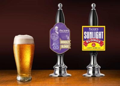 Facers Brewery Pump Clip Design