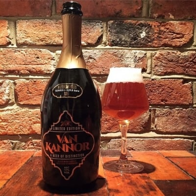 Brentwood Brewery Van kannor beer label design