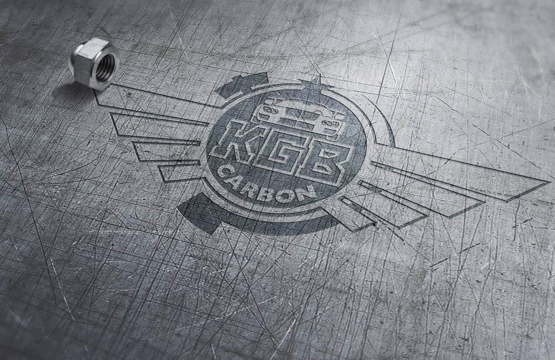 KGB Carbon Creative Logo Design