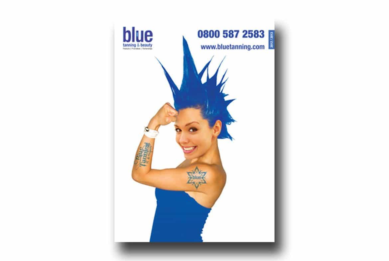 blue brochure design north east