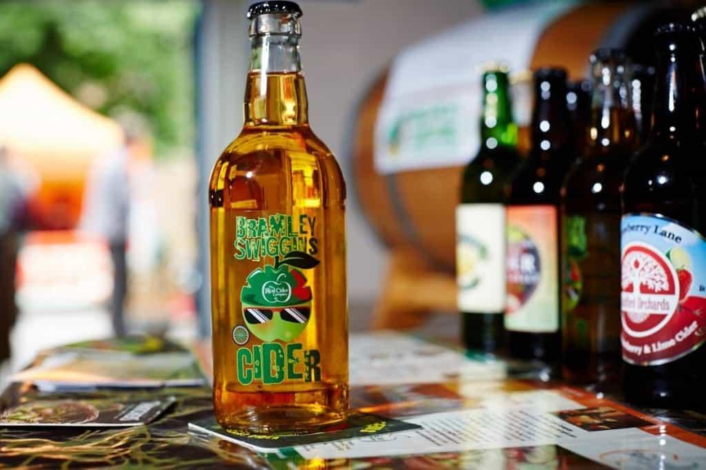 Bramley Swiggins Cider Bottle Label Design