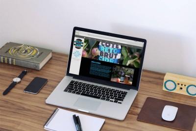 Mobile Friendly website design for cote breton cidre