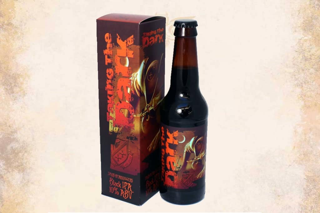 Discworld beer label design and box design