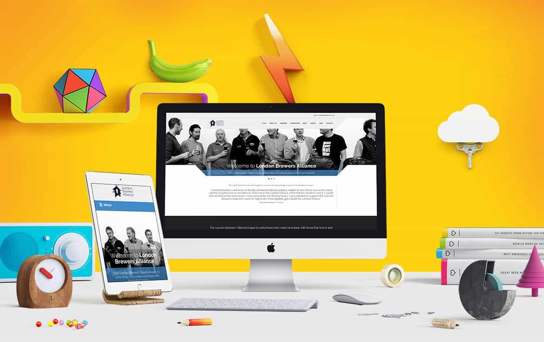 London brewers responsive website design