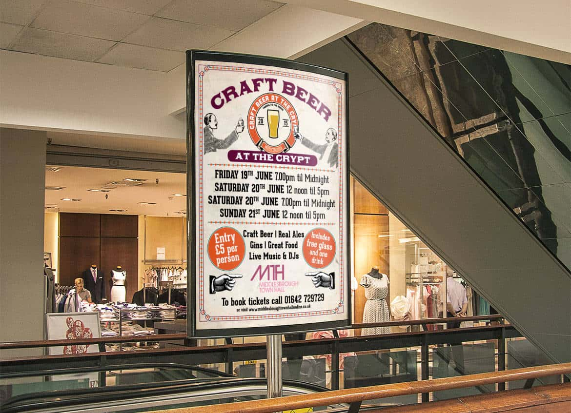 Craft Beer Poster Designers