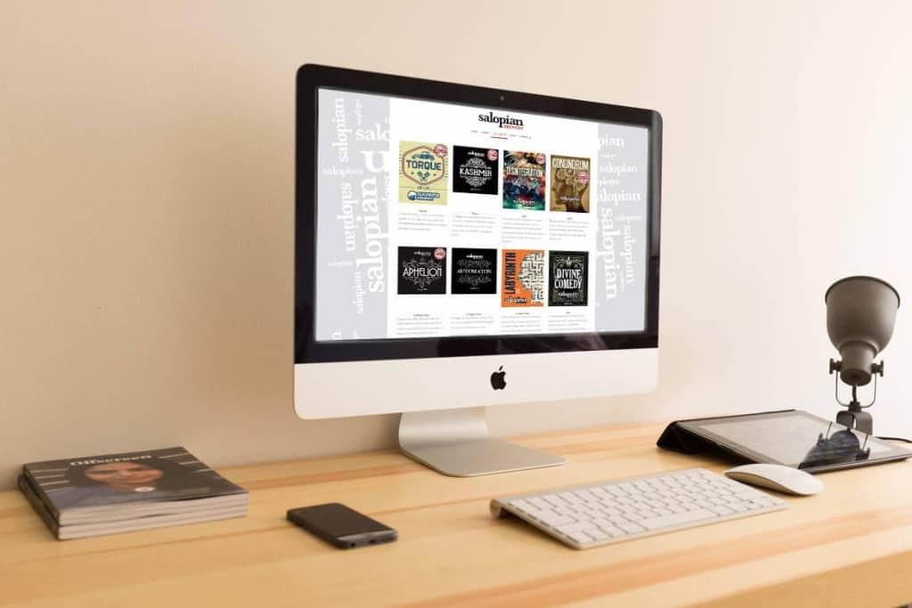 Salopian Brewery Mobile friendly Website Designers