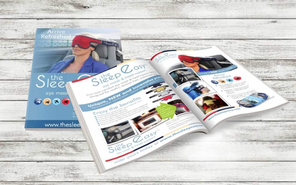 Sleep easy brochure design darlington