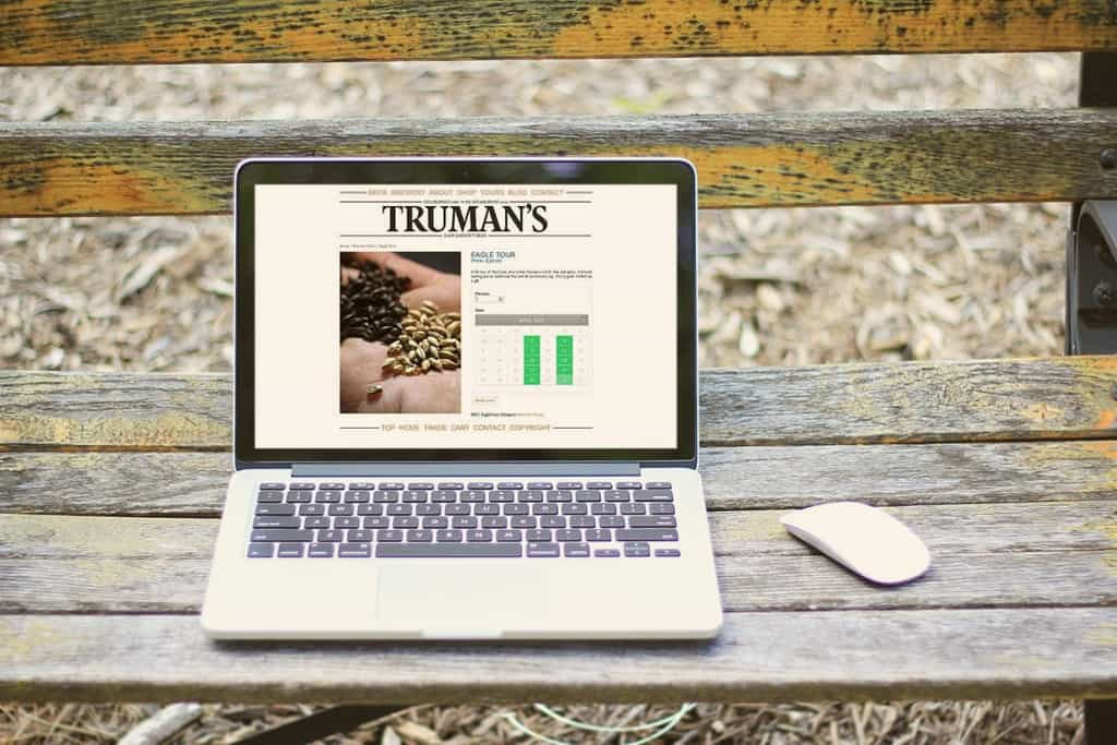 Trumans Brewery Ecommerce Website Designers