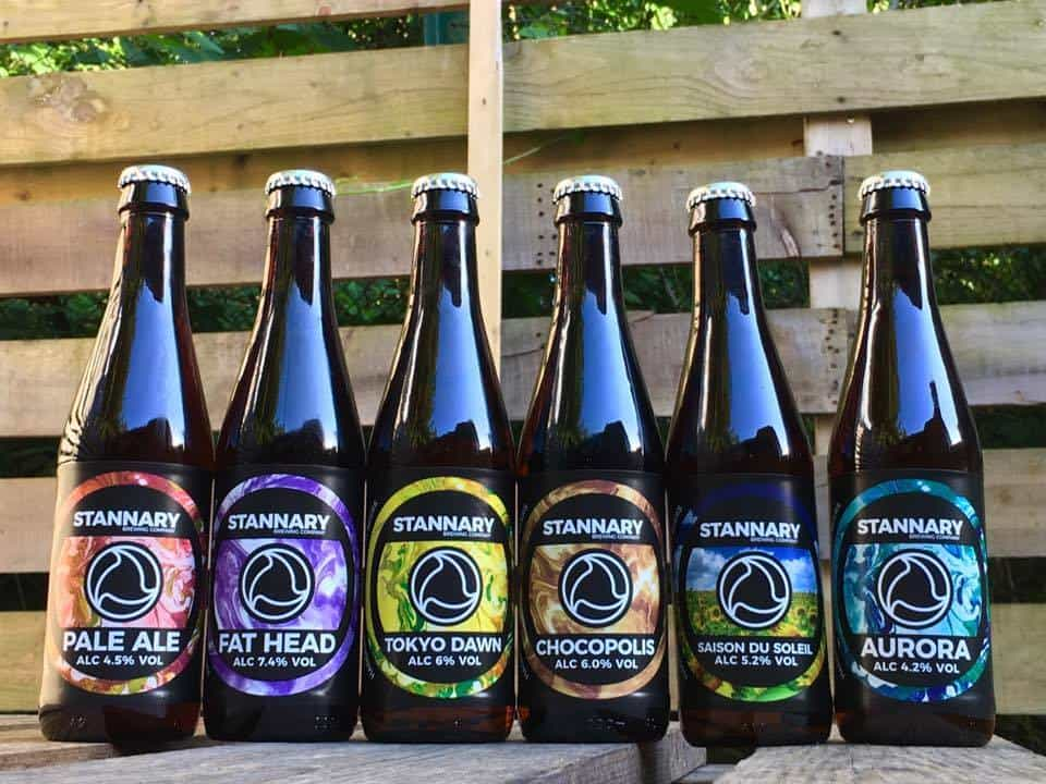 Stannary Brewery Beer Bottles
