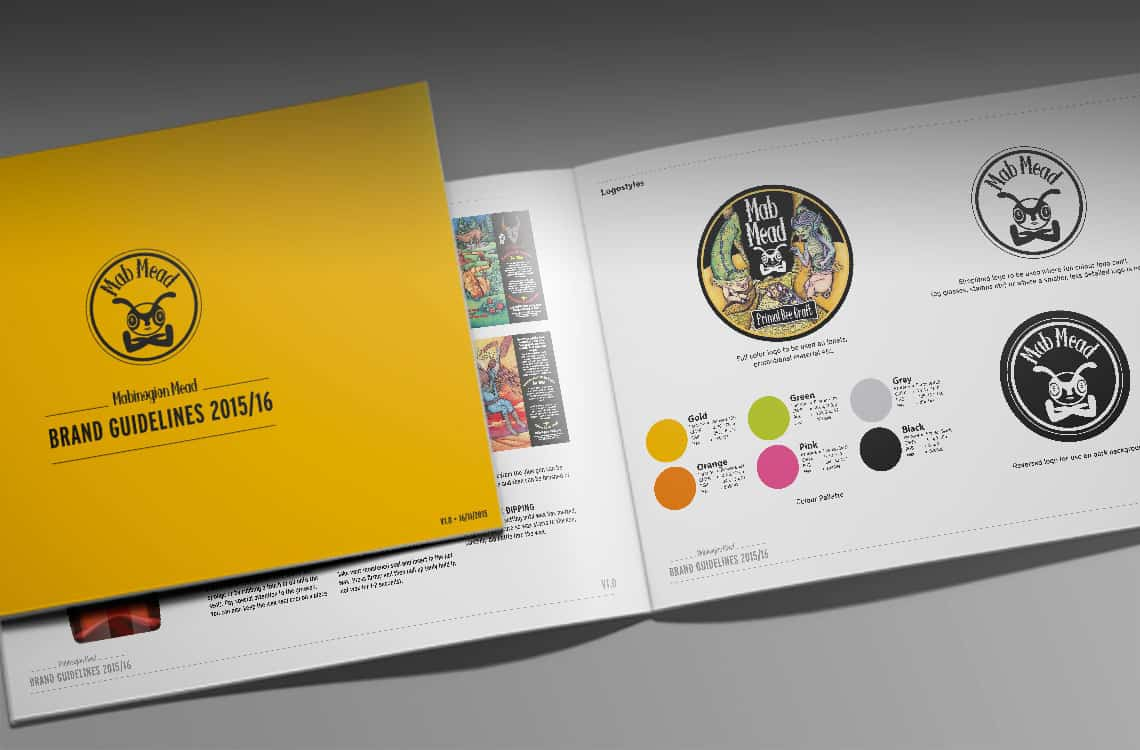 Mabinagion Mead Brand Guidelines 2015 / 2016