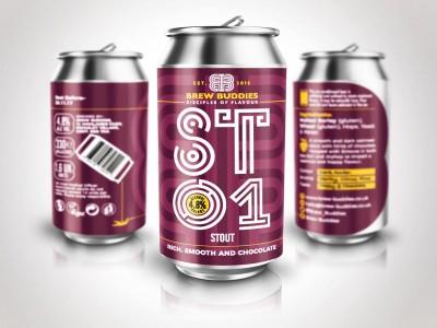 Brew Buddies ST01 Cans