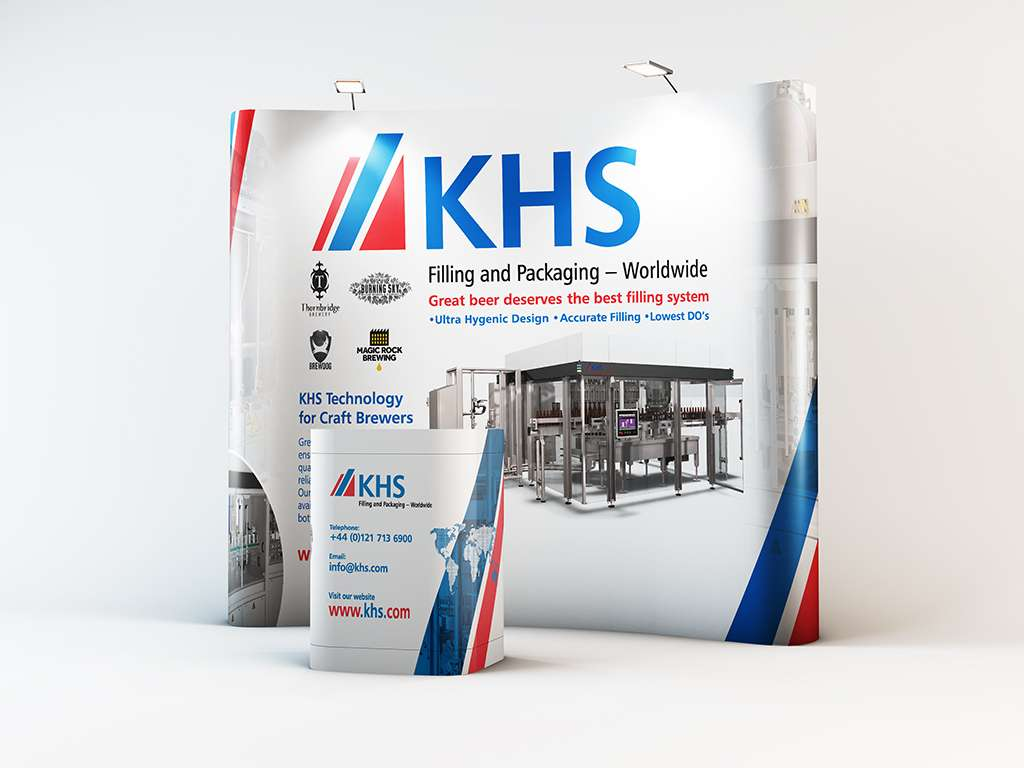 KHS Exhibition Stand Mock-up