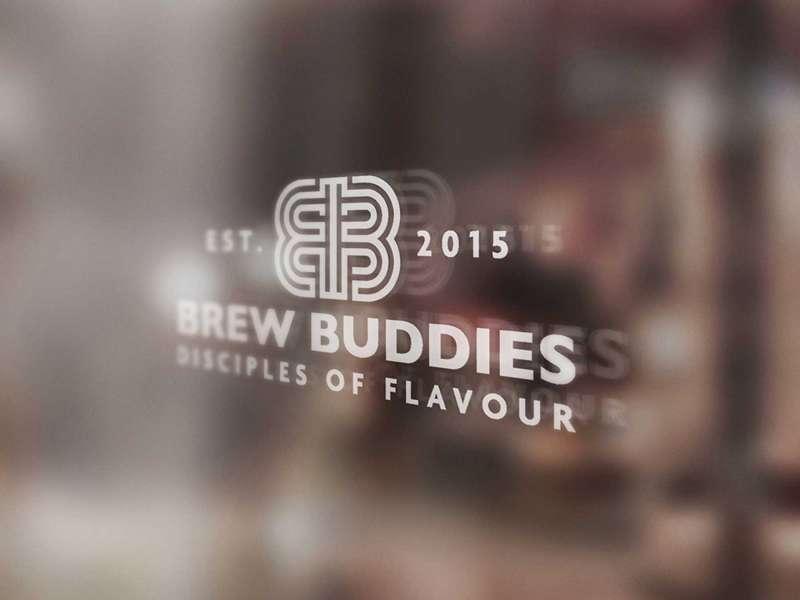 Brew Buddies Logo Mock-Up