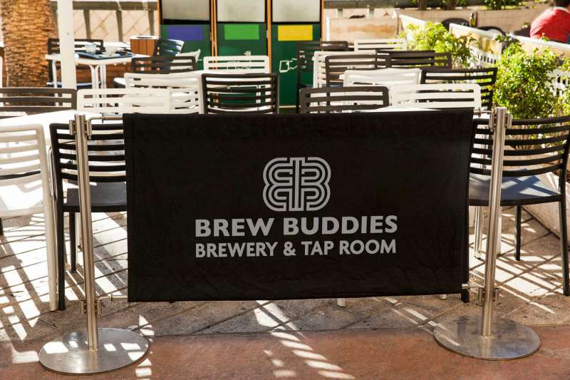 Brew Buddies Taproom Banner