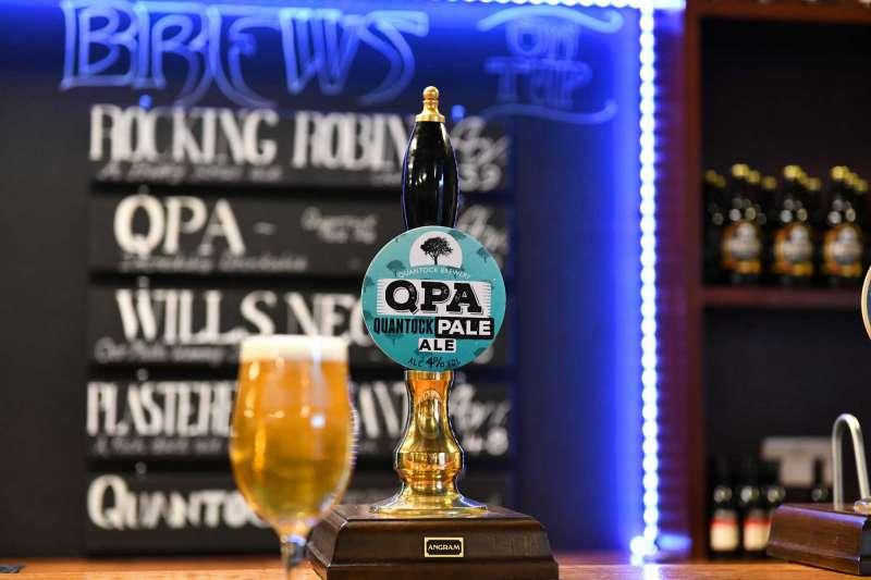 Quantock Brewery QPA Pump Clip