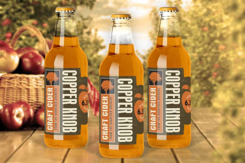 Quantock Brewery Copper Knob Bottles