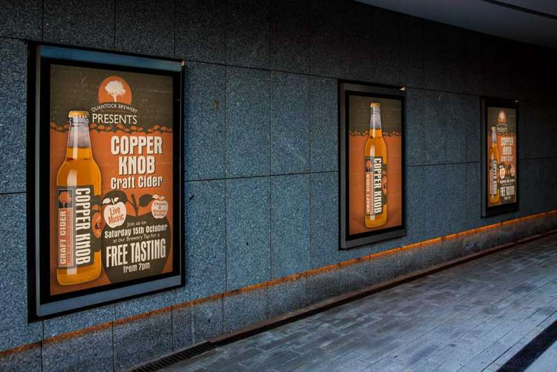 Quantock Brewery Copper Knob Posters
