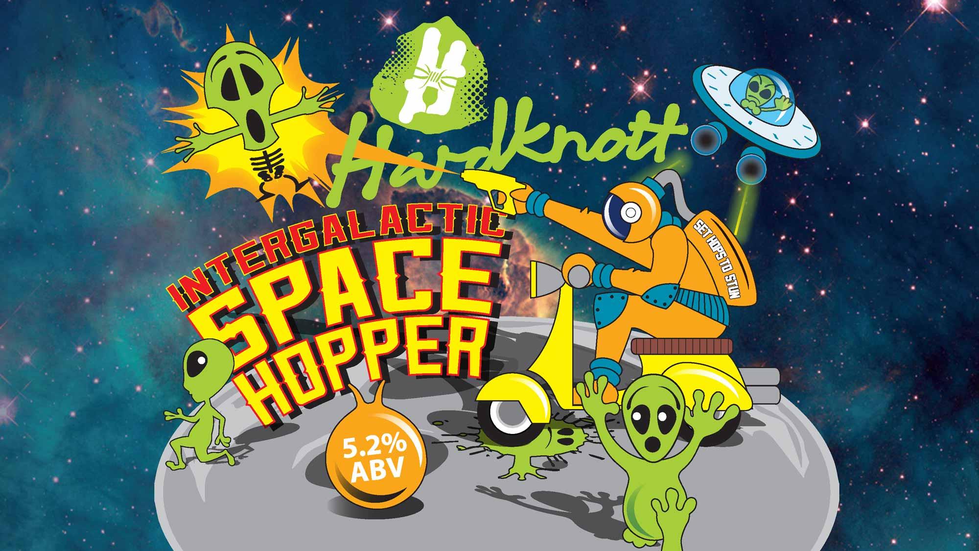 Hardknott Brewery - Space Hopper