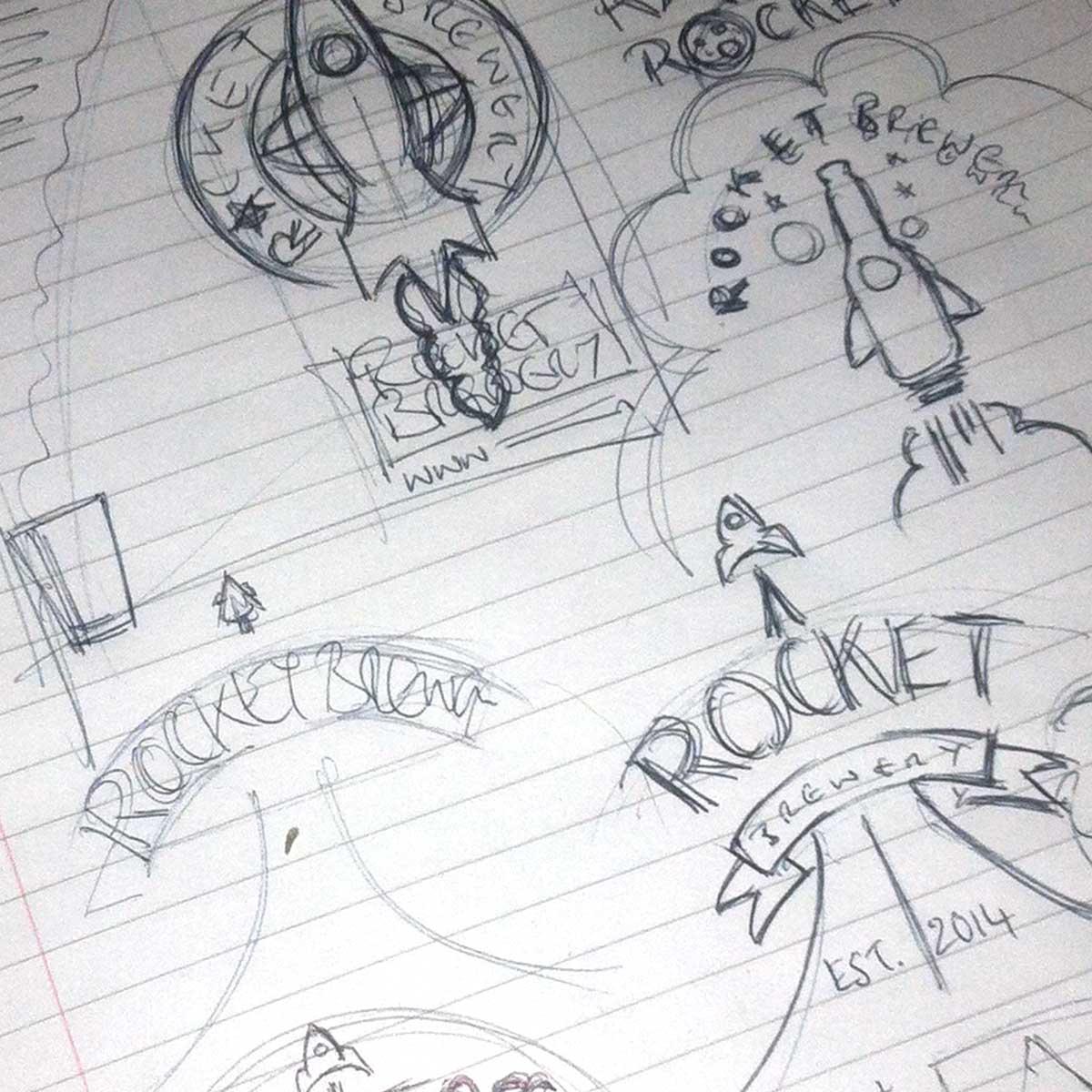 Rocket Beers - Sketches