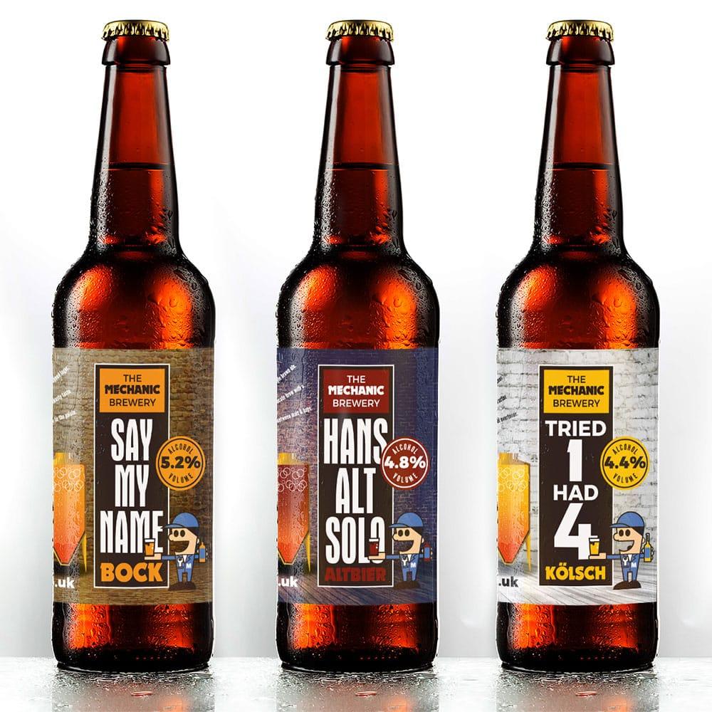 The Mechanic Brewery 330ml bottles