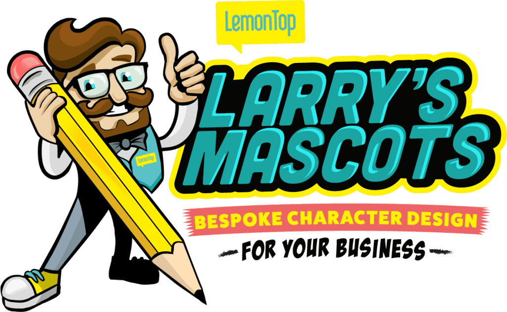 Larry's Mascots Main Header Image