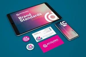 Acquiro Brand Creative Design Service